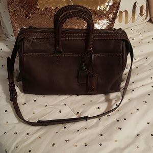 Coach Rogue 36 in Oxblood